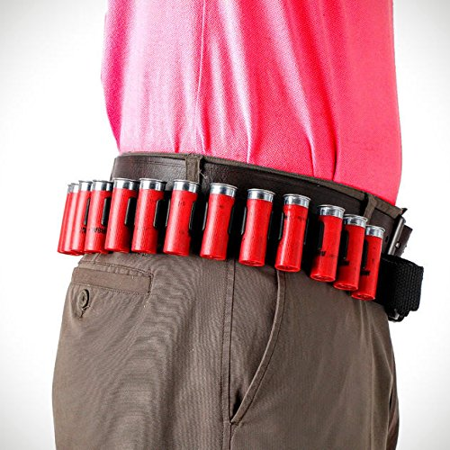 - Shell Belt/ Bandolier for 12 GA Shotgun Shells
