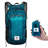 4monster Durable Packable Backpack Ultra Lightweight Water Resistant Travel Hiking Foldable Outdoor Daypack, 16L