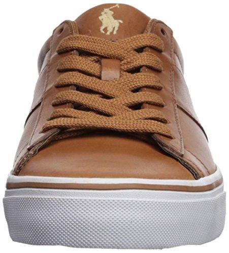 Polo Ralph Lauren Hombres Sayer Sneaker Tan