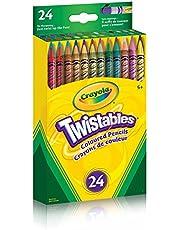 Crayola 24 Twistables Coloured Pencils Arts & Crafts
