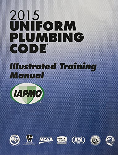 2015 Uniform Plumbing Code Illustrated Training Manual w/Tabs