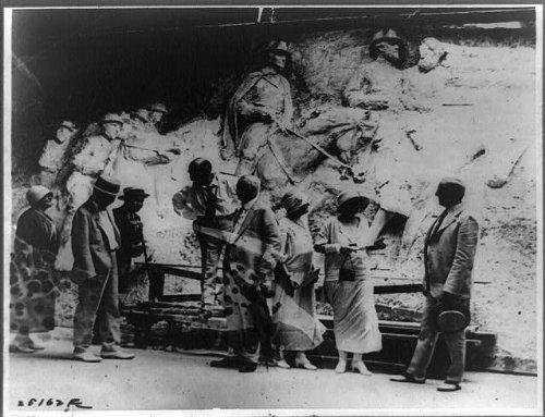 HistoricalFindings Photo: Working Model,Gutzen Borglum,for whom Warrant was Issued,1925,Atlanta,Georgia,GA (Ga Atlanta Furniture)