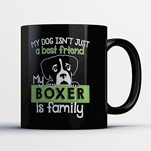 [Boxer Dog Gifts - Boxer Mom Coffee Cup - Boxer Mug - Funny Boxer Dog Gift] (Lawn Gnome Dog Costume)