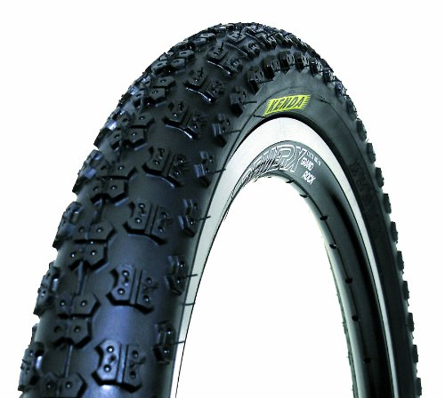 Kenda Comp III Style Wire Bead Bicycle Tire, Blackwall, 16-Inch x (Kenda K50 Bmx Tire)
