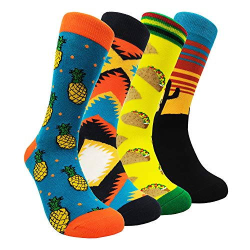 Mens Colorful Dress Socks Argyle - HSELL Men
