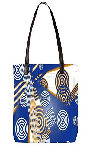 Snoogg Strandtasche, mehrfarbig (mehrfarbig) - LTR-BL-2611-ToteBag