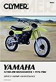 M413 1976 ? 1984 Yamaha YZ100 YZ125 YZ175 YZ250 YZ400 YZ465 YZ490 Motorcycle Repair Manual