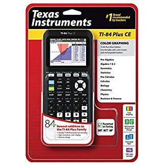 Texas Instruments TI-84 Plus CE Graphing Calculator, Black 2