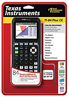 Texas Instruments TI-84 Plus CE Graphing Calculator, Black (B00TFYYWQA) | Amazon price tracker / tracking, Amazon price history charts, Amazon price watches, Amazon price drop alerts