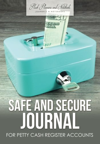 safe and secure journal for petty cash register accounts flash