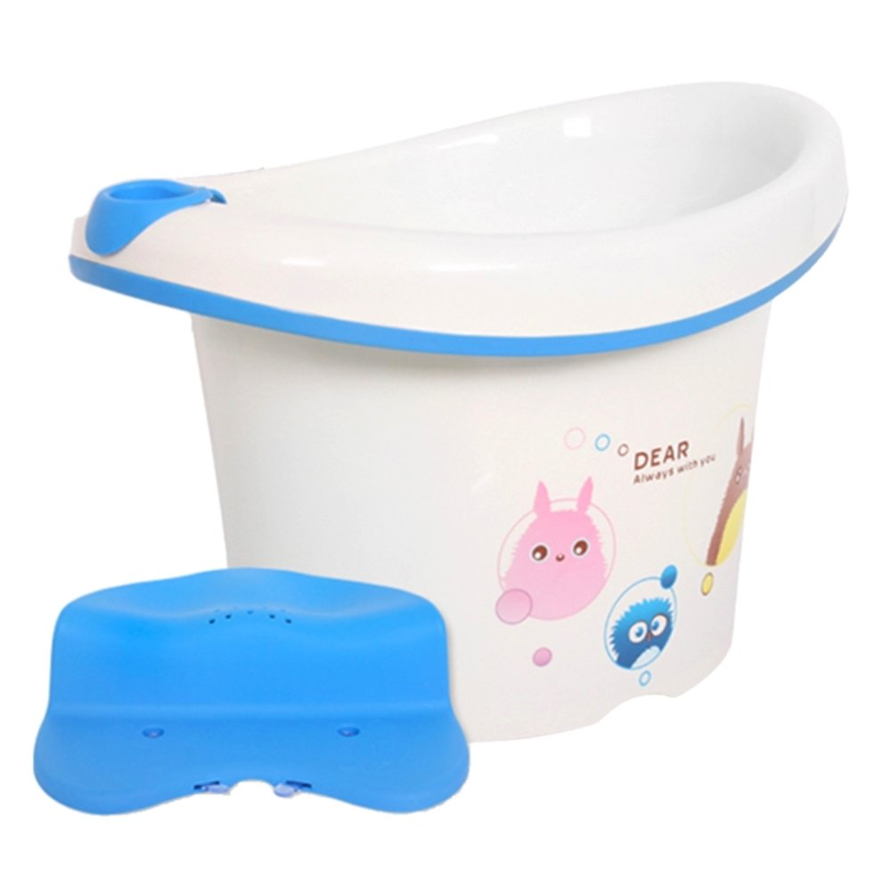 Peekaboo Deluxe Baby Bathing Tub Set (Includes a chair and a toy)