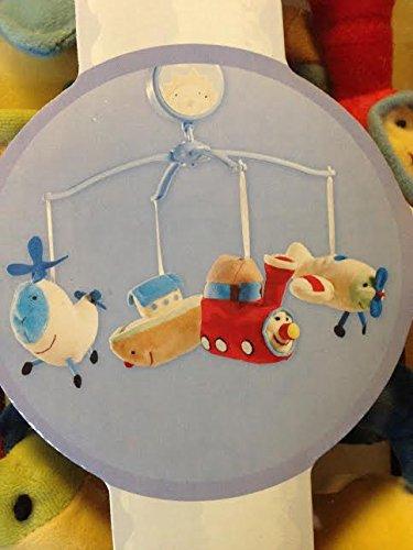 Dolly Baby Crib Musical Mobile Carrusel Plush Dolls