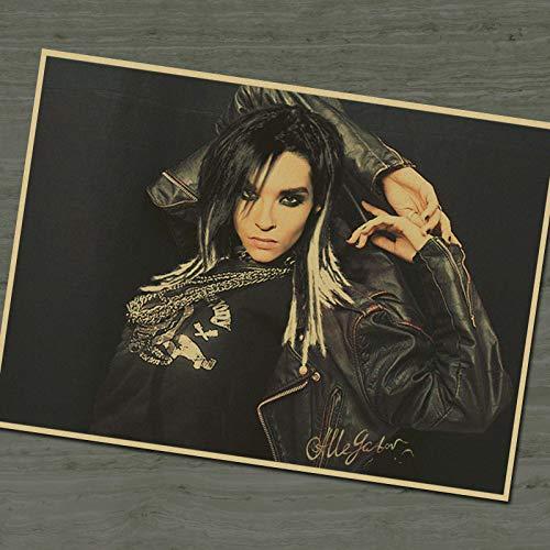 Nostálgico Tokio Hotel Vintage cartel de película antiguo ...