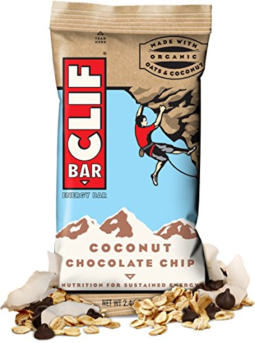 CLIF ENERGY BAR 48 Count, KnLowuB COCONUT CHOCOLATE CHIP by Clif Vaq