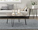 Ameriwood Home Owen Retro Coffee Table, Weathered