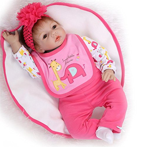 Silicone Reborn Baby Doll Red - 6