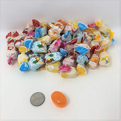 (Arcor Fruit Filled Bon Bons Sachet Wrap Hard Candies 6 Lb Bag)