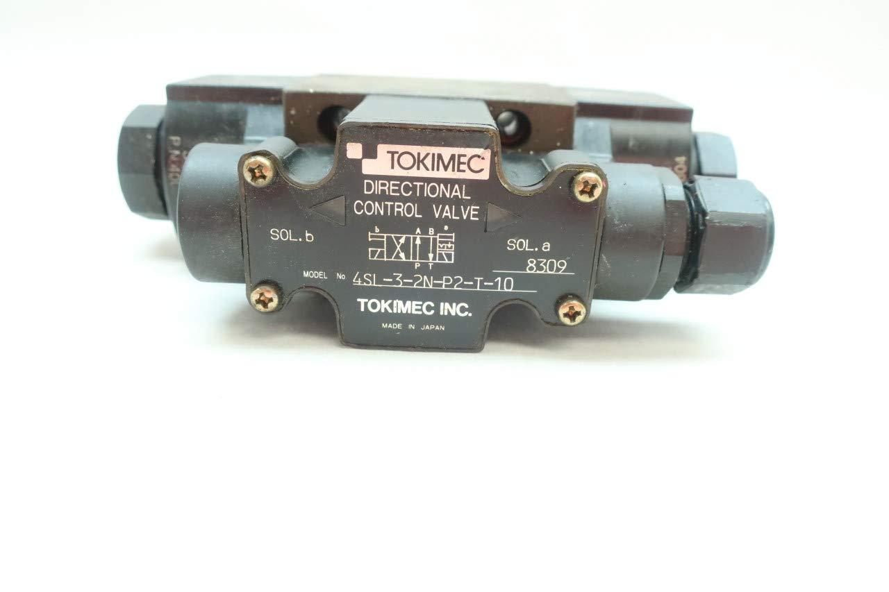 TOKIMEC 4SL-3-2N-P2-T-10 Directional Control Valve 100V-AC