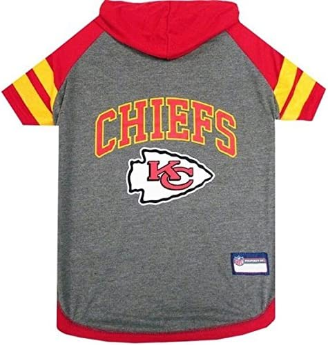 Small Kansas City Chiefs Pet Hoodie T-Shirt