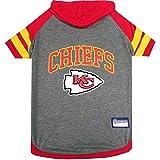 Kansas City Chiefs Pet Hoodie T-Shirt - Large