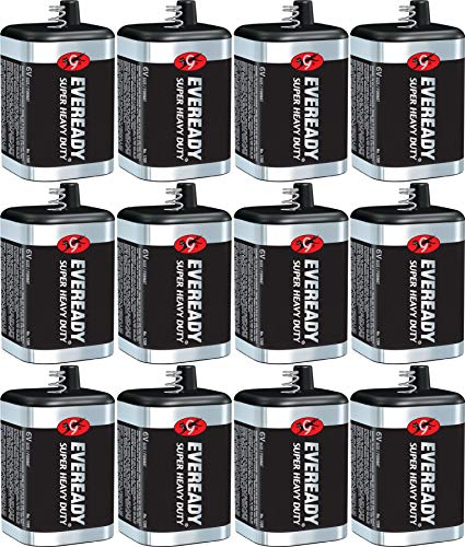 Heavy Battery Super Duty Lantern - Max EVE1209 General Purpose Battery,12 Pack