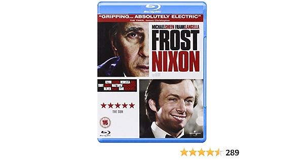 Frost/Nixon Edizione: Regno Unito Reino Unido DVD: Amazon.es ...