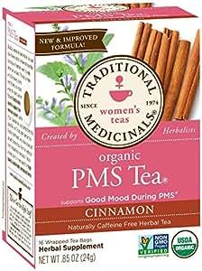 Traditional Medicinals Pms Tea Caffeine Free, 16 Count