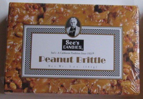5oz See's Candies Peanut Brittle