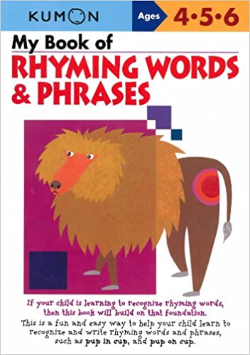 Amazon.com: My Book Of Rhyming Words And Phrases (Kumon Workbooks ...