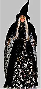 48 Inch Hanging Witch, Halloween Witch, Outdoor Witch, Witch Prop