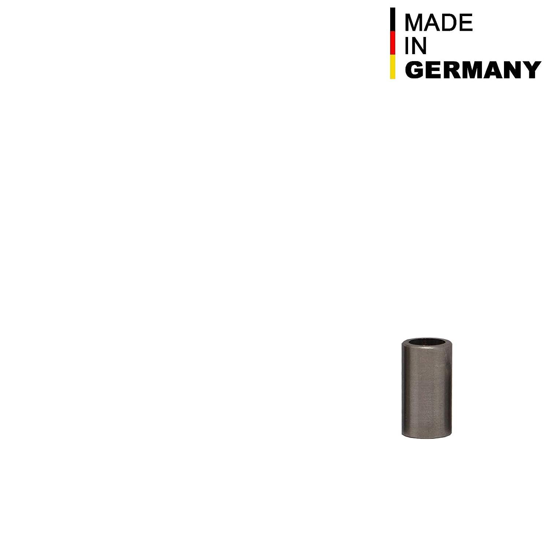 FASTON Edelstahl Distanzh/ülsen M6 /Ø innen 6 mm 4 St/ück Edelstahlh/ülse H/ülsen aus Edelstahl A2 Abstandsh/ülsen Distanzbuchsen Abstandsbuchsen Schildhalter Distanzrohr /Ø Au/ßen 8 mm L/änge 40 mm