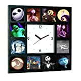 The Nightmare Before Christmas Glow In The Dark Clock Limited numbered edition