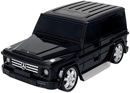 Lucky Planet Kids Lightweight Mercedes Benz G Wagon Kids Carry-on Hand Luggage Suitcase, Black