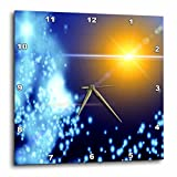 3dRose dpp_99596_2 Cosmic Sun and Solar System Nebulas-Wall Clock, 13 by 13-Inch