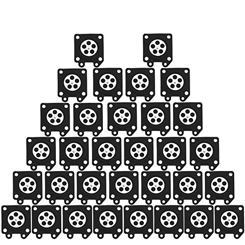 (Dxent 32 pcs 95-526 Metering Diaphragm Assembly for Walbro WA WT WY WZ Series Carburetor Engine String Trimme)