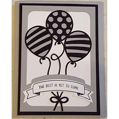 Yeahii Balloon Cutting Dies Stencil DIY Scrapbooking Embossing Album Paper Card Crafts by Yeahii (Image #1)