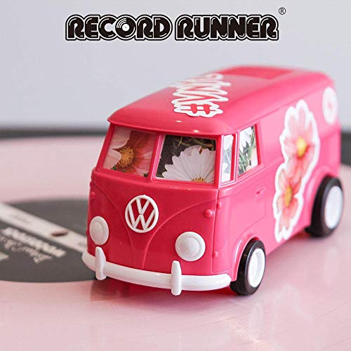 Record Runner, Formerly Sound Wagon Vinyl Record Player (Hot Pink Limited Edition)