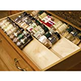 kitchen drawer spice insert - Omega National Spice Drawer Insert, 19 inch W