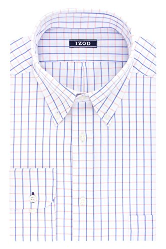 IZOD Regular Wiindowpane Buttondown Collar product image