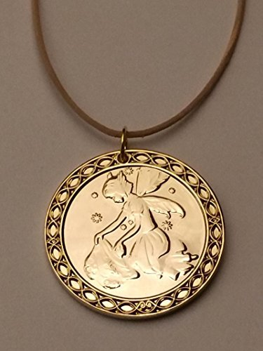 Zahnfee.me Tooth Fairy Coin, Gold Plated, 7 (Treasure). Limited Edition