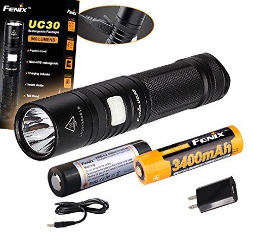 Fenix UC30 Rechargeable Flashlight Tactical product image