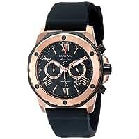 Bulova Men's 98B104 Marine Star Calendar Stainless Steel Dress Watch