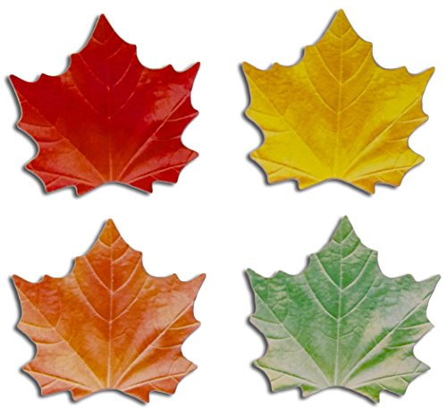 Leaf Shaped Sticky Notes for Thankful Tree Poster - 3 1/2
