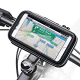 Bike Mount Holder - iKross Universal Smartphone iPhone Bicycle WaterProof Pouch Holster Case - Black