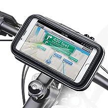Bike Mount Holder - iKross Universal Smartphone iPhone Bicycle WaterProof Pouch Holster Case - Black