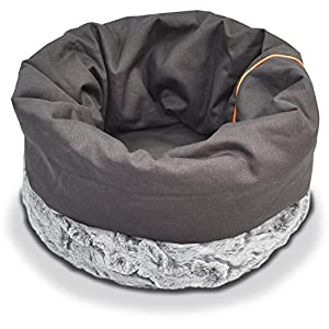 P.L.A.Y. (Pet Lifestyle And You) Canvas Cotton Snuggle Pet Bed lovely