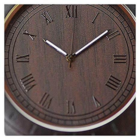 Reloj de Madera de bambú Arashiyama Classic de Woodenson: Amazon.es: Relojes