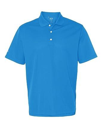 dirt cheap new lifestyle discount sale adidas Golf Mens Climalite Basic Short-Sleeve Polo (A130) -Coast/Whit -4XL