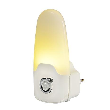 emotio nLite multiusos LED Luz nocturna con sensor de movimiento y sensor crepuscular portátil Linterna Luz