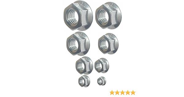 Full Nuts Mild Steel Zinc Plated 4 BA ZP Hexagonal Pack of 75 nuts Hex
